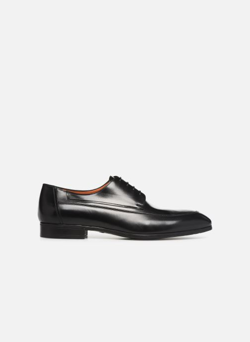 Zapatos con cordones Santoni Simon 16620 Negro vistra trasera