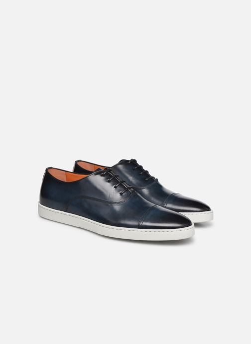 Sneakers Santoni Atlantis 15019 Blauw 3/4'