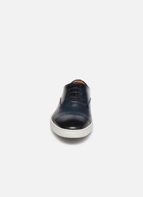 Sneaker Santoni Atlantis 15019 blau schuhe getragen
