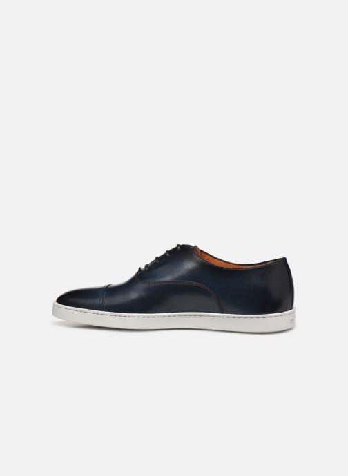 Sneakers Santoni Atlantis 15019 Azzurro immagine frontale