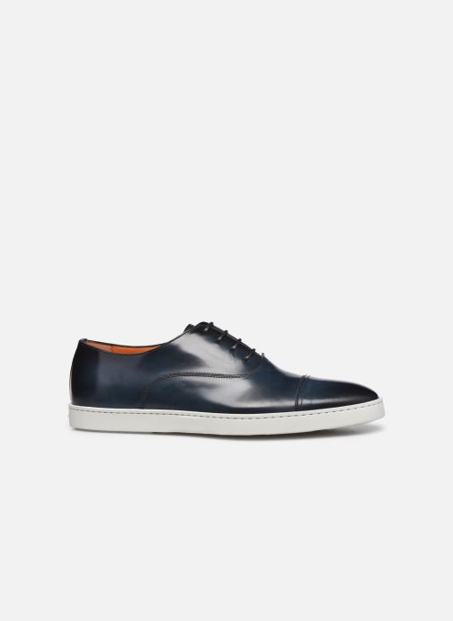 Sneakers Santoni Atlantis 15019 Blauw achterkant