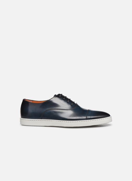 Sneakers Santoni Atlantis 15019 Azzurro immagine posteriore