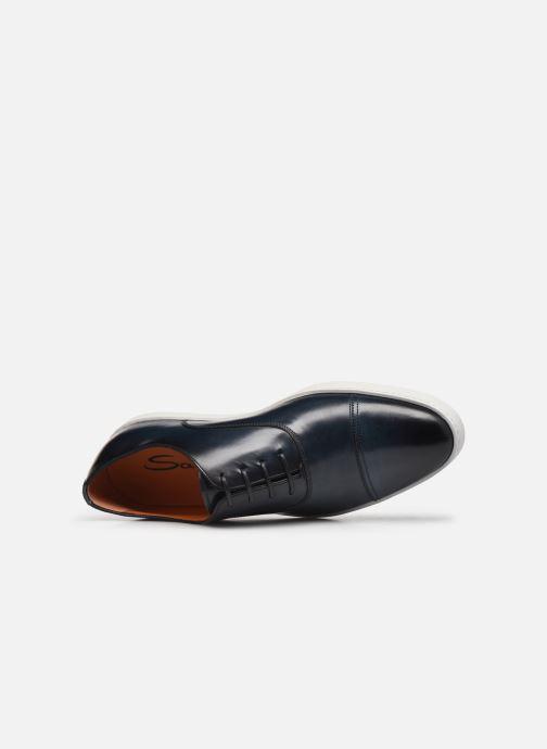 Sneakers Santoni Atlantis 15019 Blauw links
