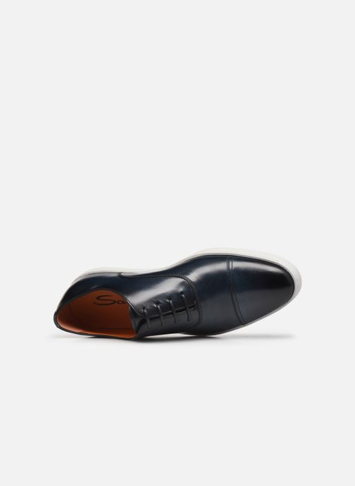 Sneakers Santoni Atlantis 15019 Azzurro immagine sinistra
