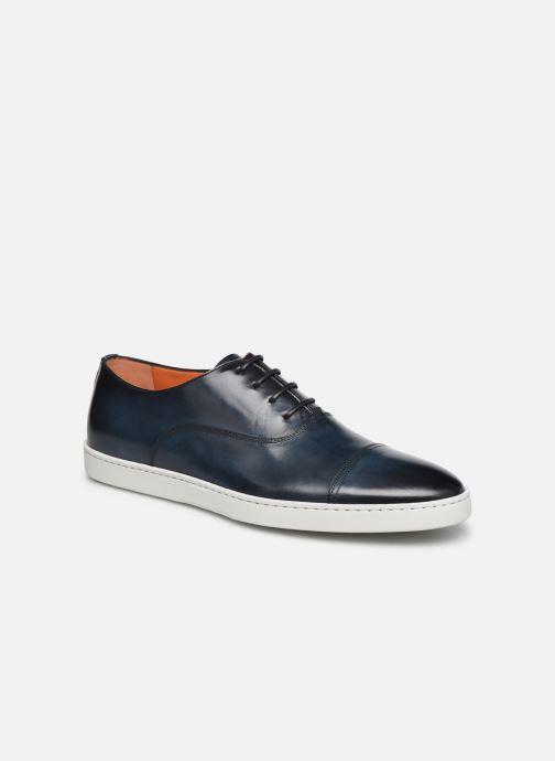 Sneakers Santoni Atlantis 15019 Blauw detail