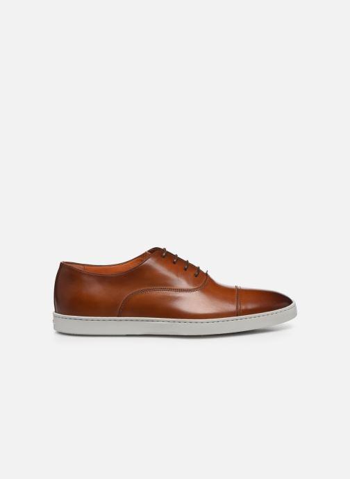 Sneakers Santoni Atlantis 15019 Bruin achterkant