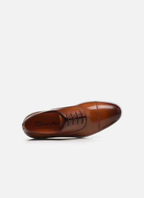 Sneakers Santoni Atlantis 15019 Bruin links