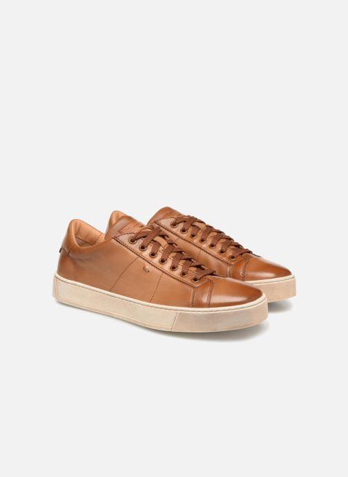Sneakers Santoni Gloria 2 Bruin 3/4'