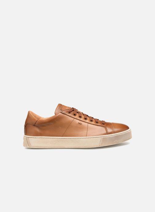 Sneakers Santoni Gloria 2 Bruin achterkant