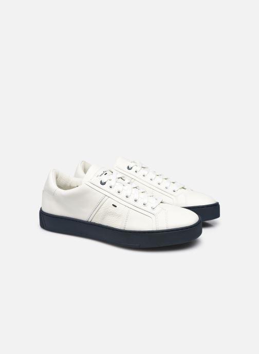 Sneakers Santoni Gloria 2 Bianco immagine 3/4