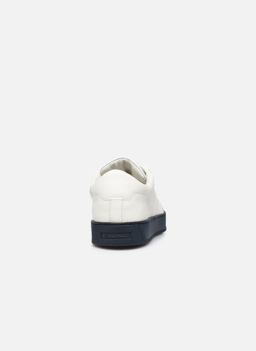 Sneakers Santoni Gloria 2 Bianco immagine destra