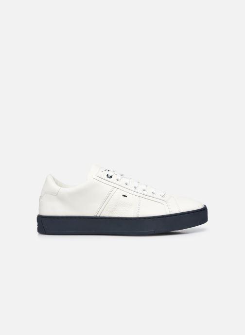 Sneakers Santoni Gloria 2 Bianco immagine posteriore