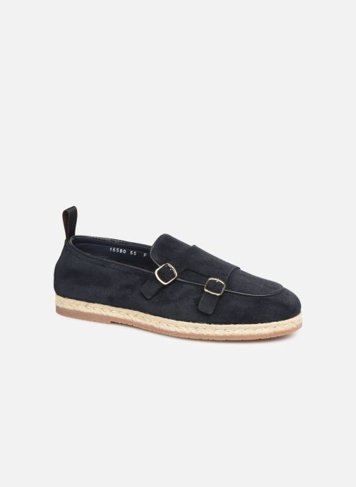 Loafers Santoni Milo Blue detailed view/ Pair view
