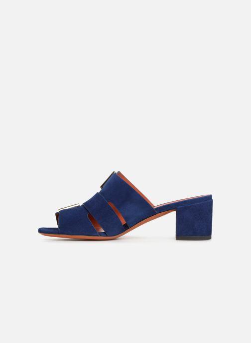 Wedges Santoni Manet 50 Blauw voorkant