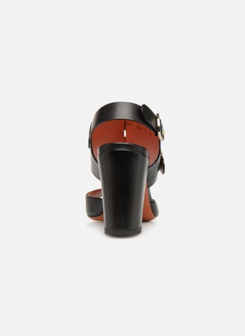 Sandales et nu-pieds Santoni Manet 85 Noir vue droite
