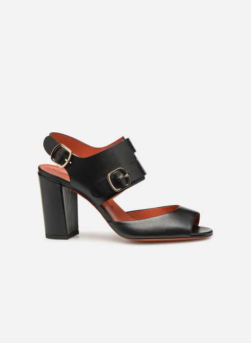 Sandales et nu-pieds Santoni Manet 85 Noir vue derrière