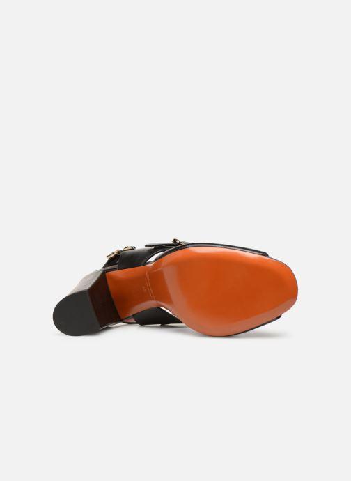 Sandales et nu-pieds Santoni Manet 85 Noir vue haut