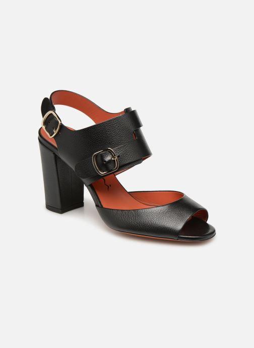 Sandales et nu-pieds Santoni Manet 85 Noir vue détail/paire