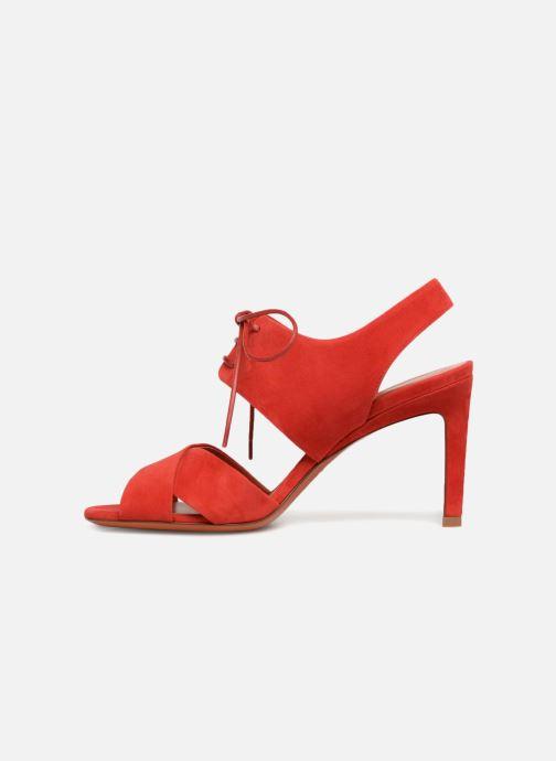 Sandales et nu-pieds Santoni Emi 85 Rouge vue face