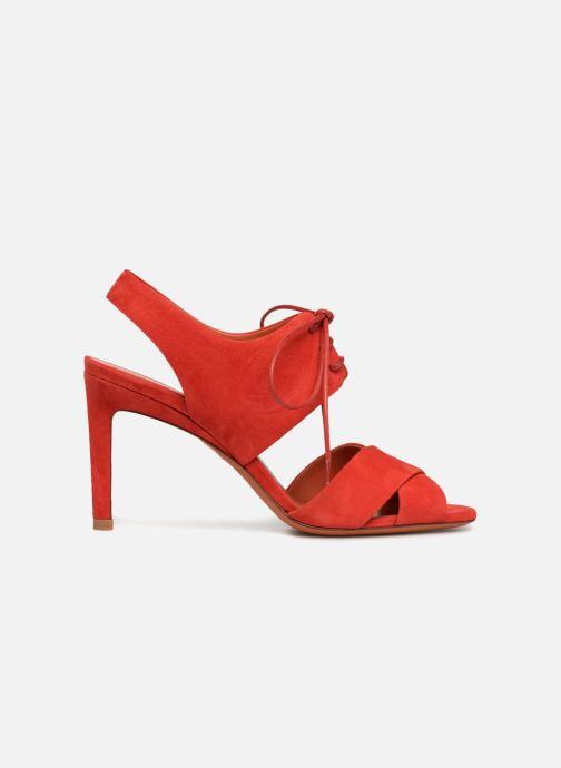 Sandales et nu-pieds Santoni Emi 85 Rouge vue derrière