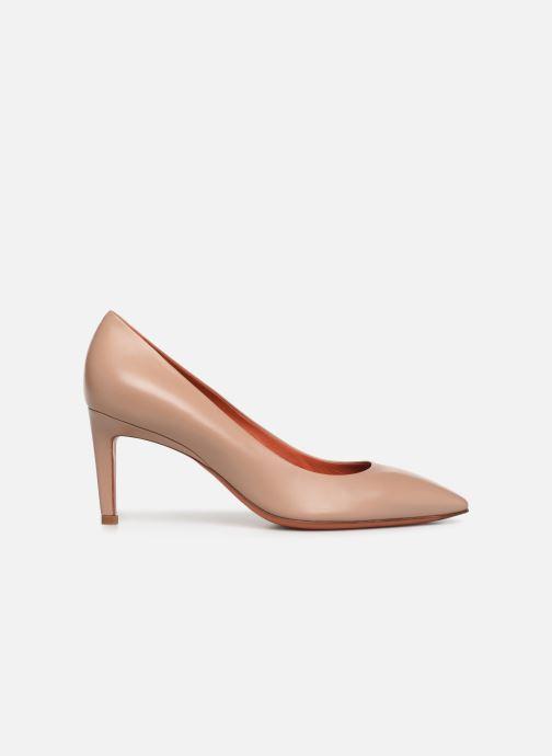 High heels Santoni Mina 70 Beige back view
