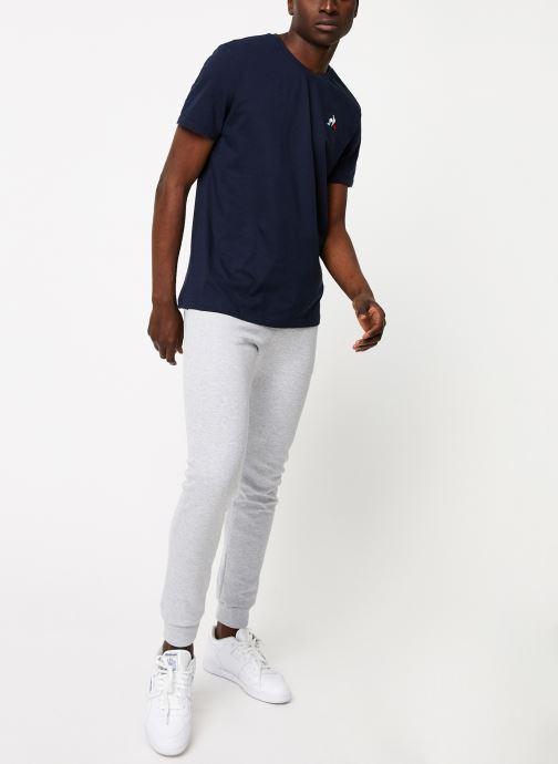 Vêtements Le Coq Sportif ESS Pant Slim N°1 M Gris vue bas / vue portée sac