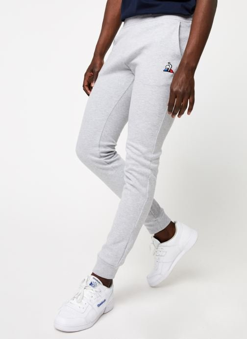 Vêtements Le Coq Sportif ESS Pant Slim N°1 M Gris vue détail/paire