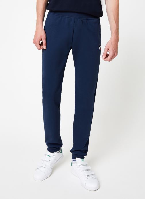 Vêtements Le Coq Sportif ESS Pant Slim N°1 M Bleu vue détail/paire