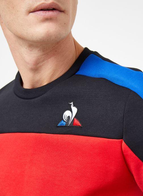 Le pur Crew M Coq Black VêtementsSweats Tri N°4 Rouge cobalt Sportif Sweat clFKT13J