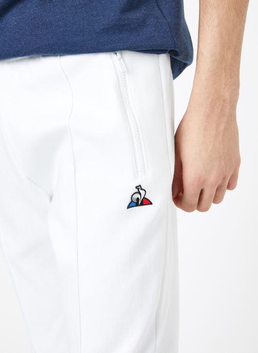 Vêtements Le Coq Sportif TRI Pant Straight N°1 M Blanc vue face