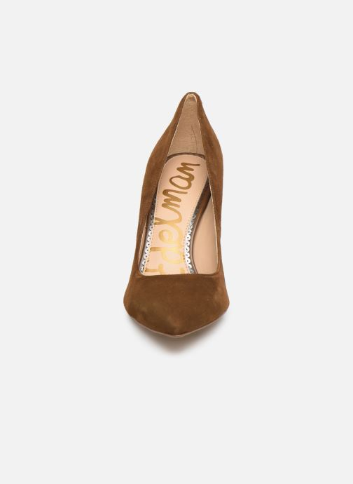 Zapatos de tacón Sam Edelman Hazel Marrón vista del modelo