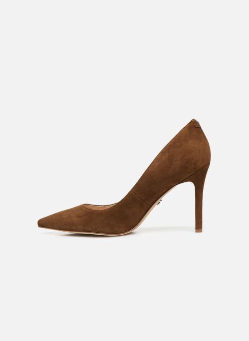 Zapatos de tacón Sam Edelman Hazel Marrón vista de frente