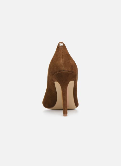 Zapatos de tacón Sam Edelman Hazel Marrón vista lateral derecha