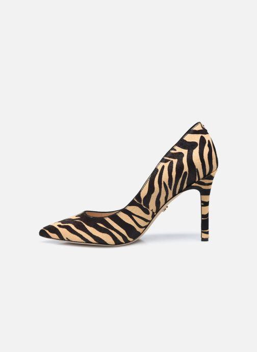 Zapatos de tacón Sam Edelman Hazel Beige vista de frente