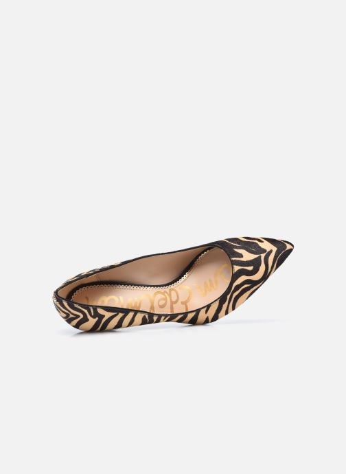 Zapatos de tacón Sam Edelman Hazel Beige vista lateral izquierda
