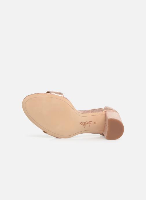 Sandales et nu-pieds Sam Edelman Yaro Rose vue haut