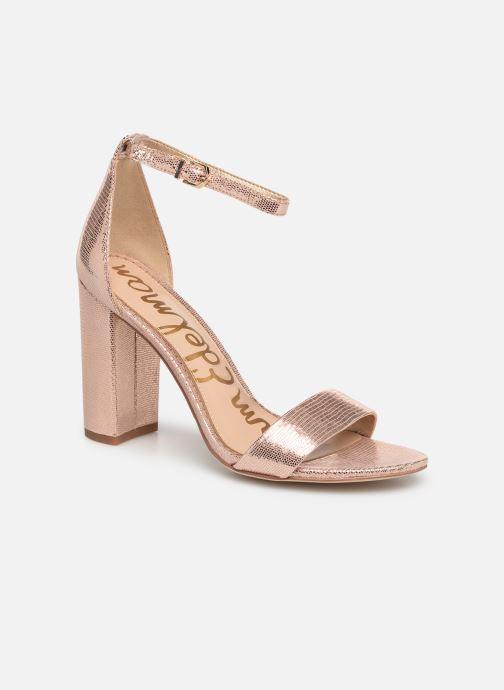 Sandales et nu-pieds Sam Edelman Yaro Rose vue détail/paire