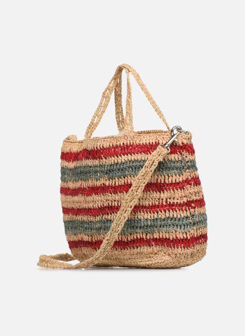 Handtaschen Vanessa Bruno CABAS BABY mehrfarbig ansicht von rechts