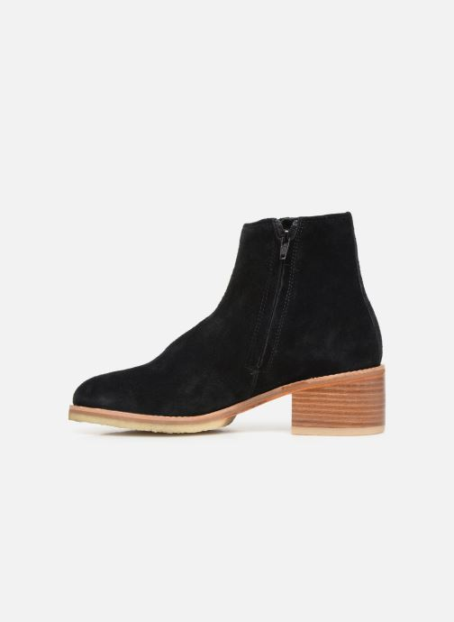 Bottines et boots Clarks Originals Amara Boot Noir vue face