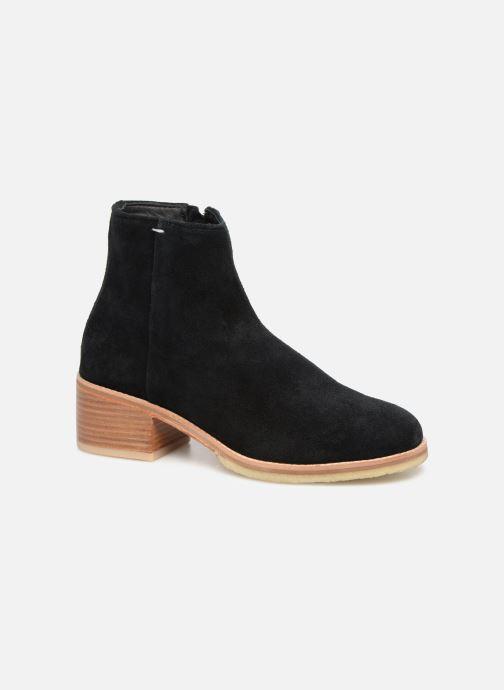 Boots en enkellaarsjes Clarks Originals Amara Boot Zwart detail