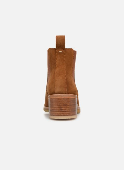 Ankle boots Clarks Originals Amara Chelsea Brown view from the right