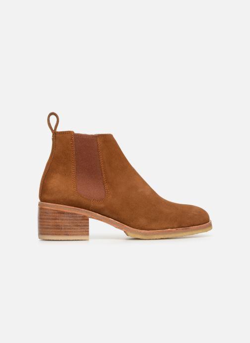 Bottines et boots Clarks Originals Amara Chelsea Marron vue derrière