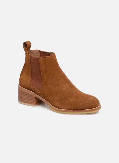 Bottines et boots Clarks Originals Amara Chelsea Marron vue détail/paire