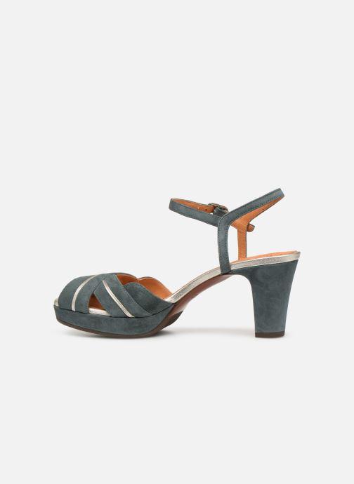 Sandales et nu-pieds Chie Mihara Nalu Bleu vue face