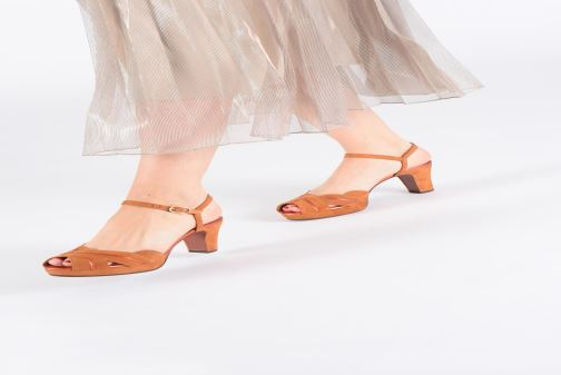 Sandaler Chie Mihara Nalu Brun se forneden