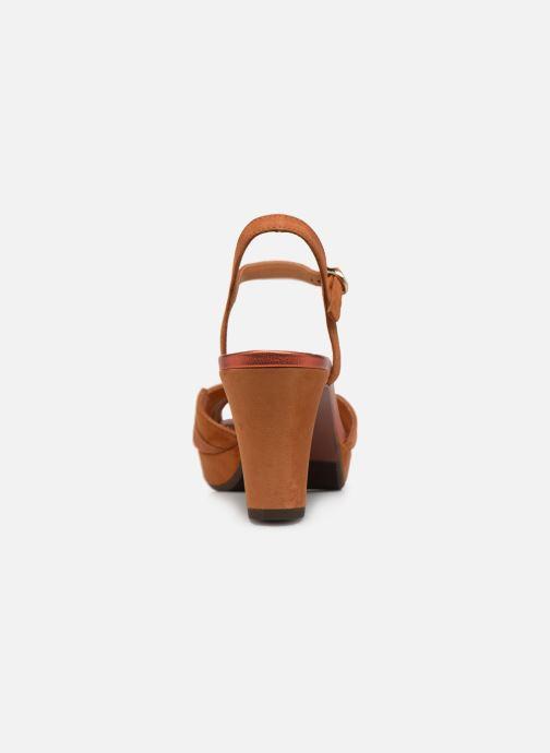 Sandales et nu-pieds Chie Mihara Nalu Marron vue droite