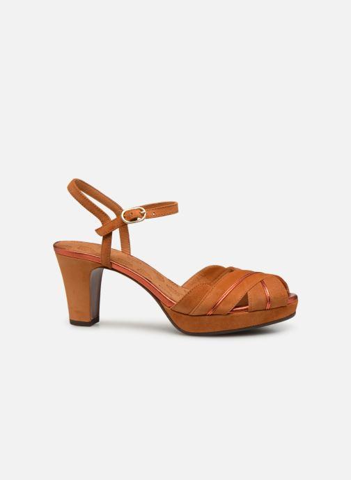 Sandales et nu-pieds Chie Mihara Nalu Marron vue derrière