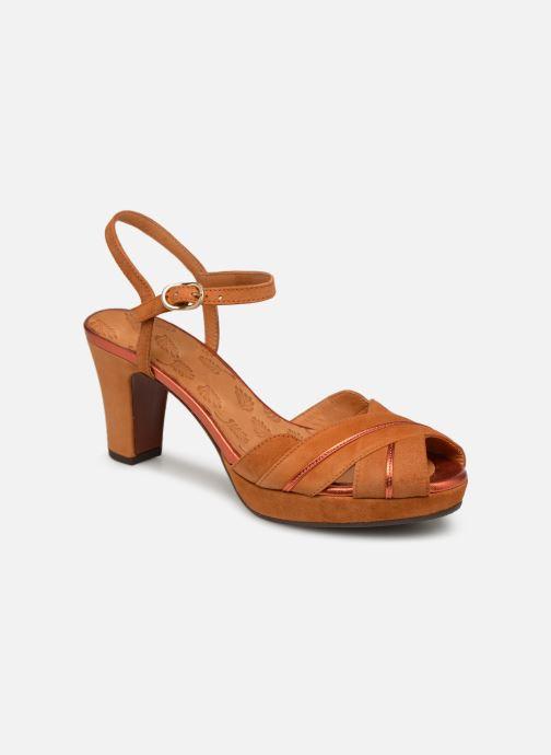 Sandaler Chie Mihara Nalu Brun detaljeret billede af skoene