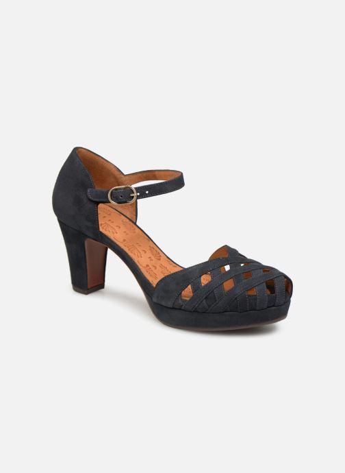 Sandales et nu-pieds Chie Mihara Ni-Irma Bleu vue détail/paire