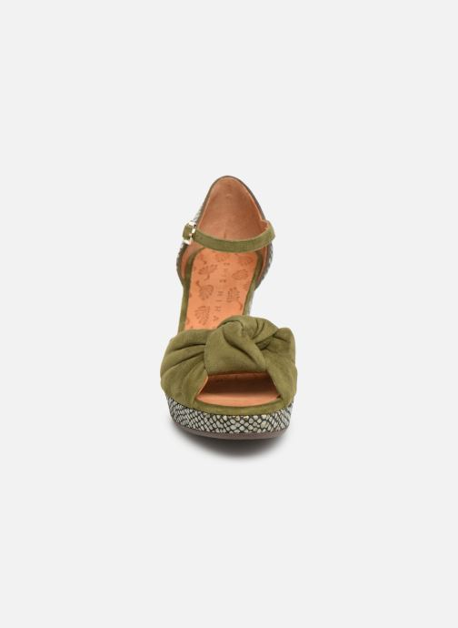 Sandales et nu-pieds Chie Mihara Naira Vert vue portées chaussures